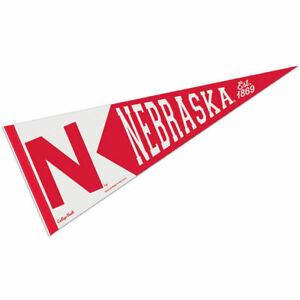 Details about University of Nebraska Vault, Retro and Vintage Logo Pennant.