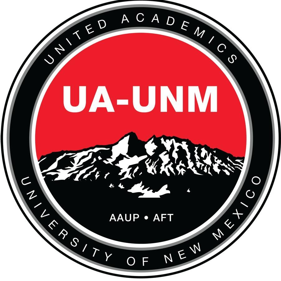 United Academics of the University of New Mexico on Twitter.