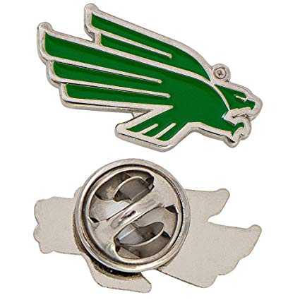 University of North Texas Logo Lapel Pin Enamel Made of Metal (Lapel Pin).