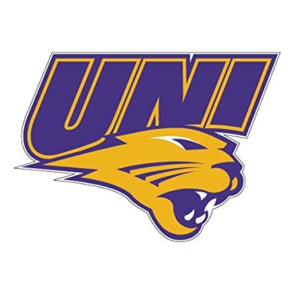 Amazon.com : CollegeFanGear Northern Iowa Large Decal \'UNI.