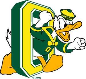 University of Oregon mascot.