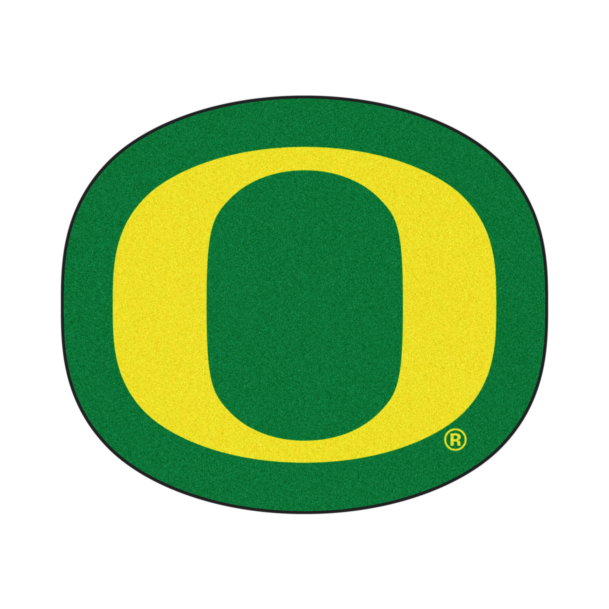 University of Oregon Logo Area Rug.