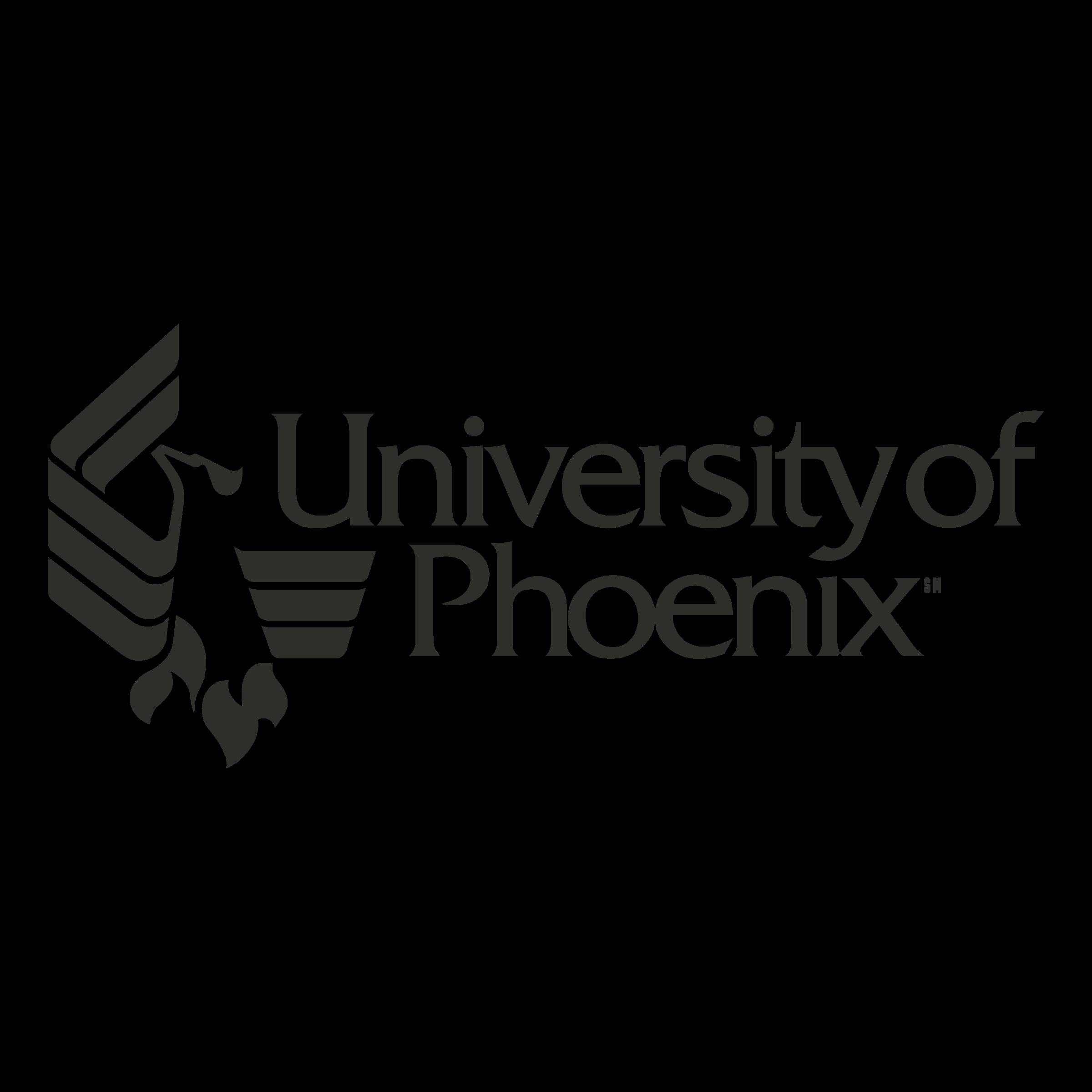 University of Phoenix Logo PNG Transparent & SVG Vector.