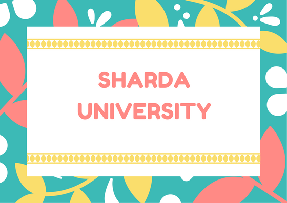 Sharda University Admission Test 2019: Application Form.