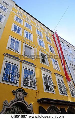 Picture of Salzburg, Austria k4851667.