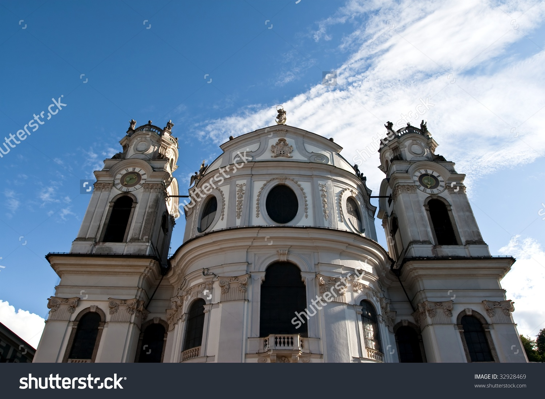 Kollegienkirche.