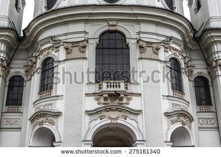 Kollegienkirche Stock Photos, Royalty.