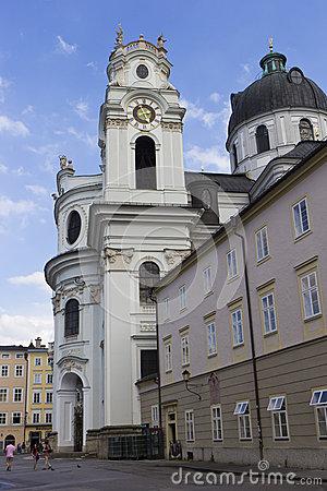 University Church (Kollegienkirche) In Salzburg, Austria Editorial.