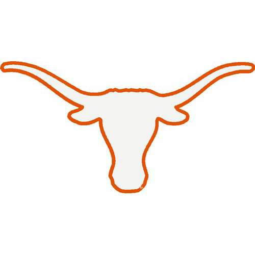 University Texas Longhorns Clipart.