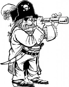 PIRATES OF THE CARIBBEAN CHARLES D. BEEKER CLAIMING TO BE FROM THE.