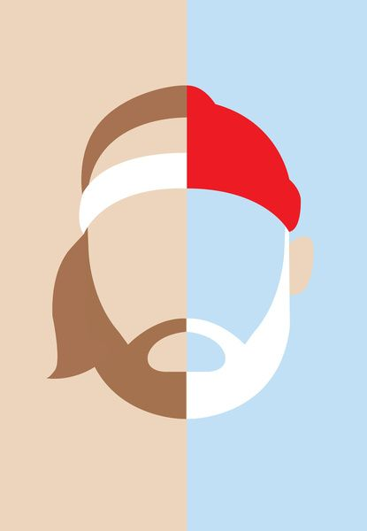 Epic Beard Match Up. Illustrated by unknown artist..