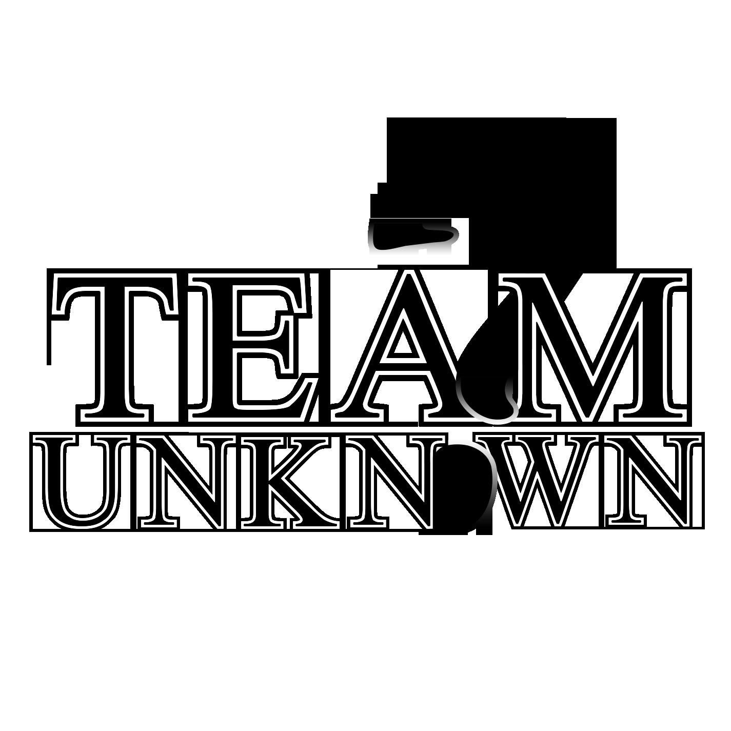Team Unknown Logo Update.