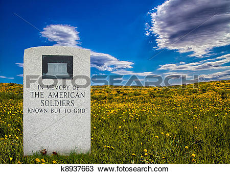 Drawing of Unknown Soldier k8937663.