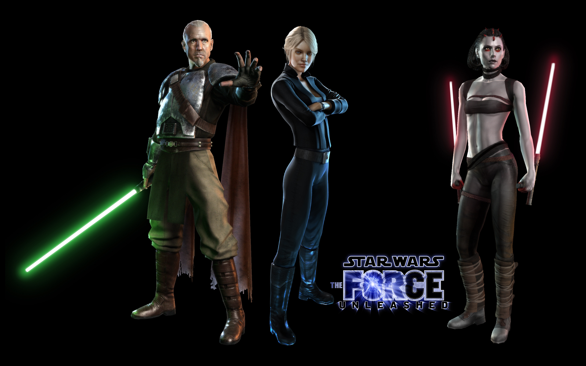 The force unleashed clipart.