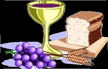 The Eucharist: apostles, bible, bread, candles, catholic, en.