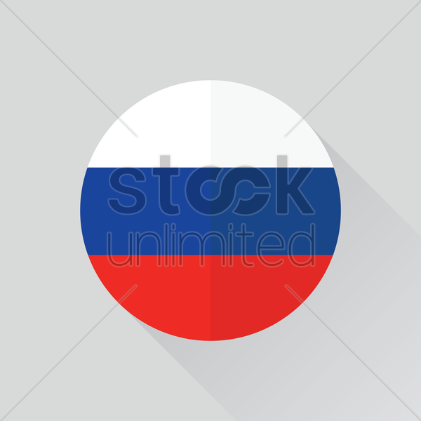 Russia Flag Vector Clipart 1362753 Stock Unlimited.
