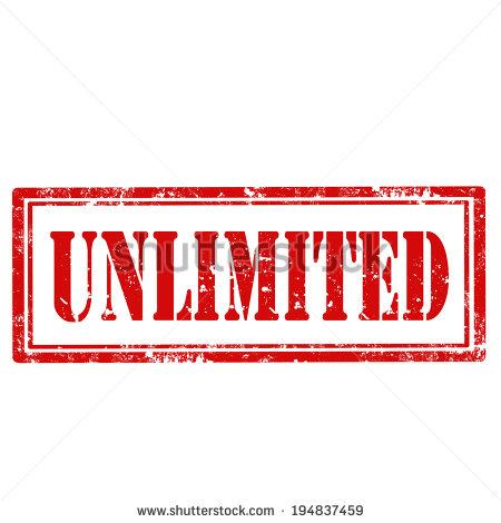 Unlimited clip art.