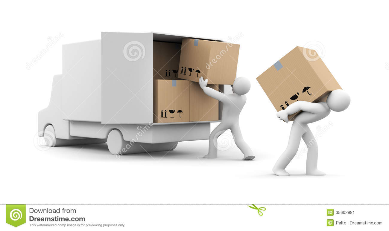 Unload clipart.