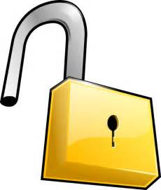 Similiar Cartoon Unlocked Padlock Keywords.