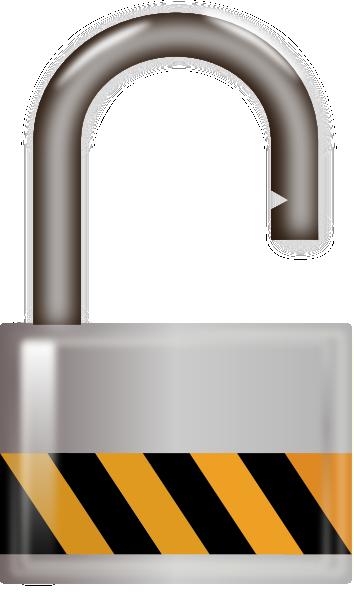 Clip Art Locked Unlocked Clipart.