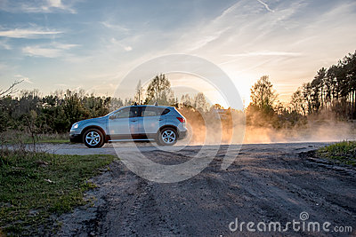Cloud Car Royalty Free Stock Photos.