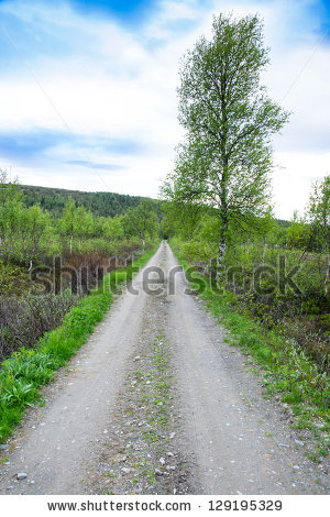 Country Lane Stock Photos, Royalty.