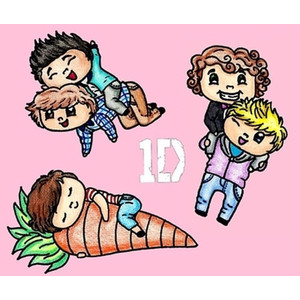 Cute one direction clipart.