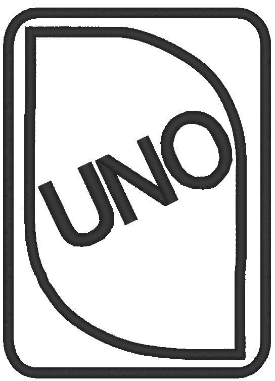 Uno Card Clipart.