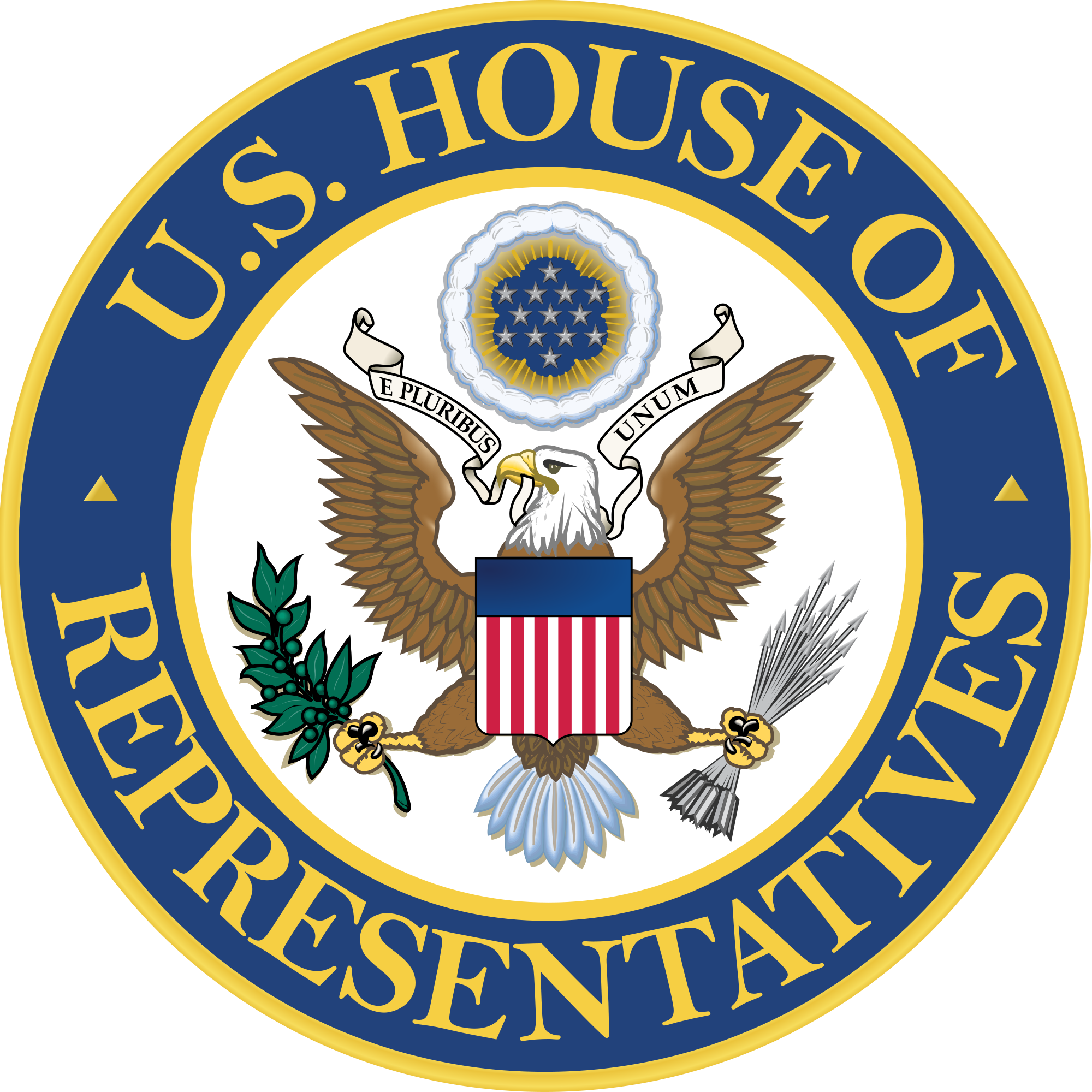 Seal Of The United States House Of Representatives Unofficial.