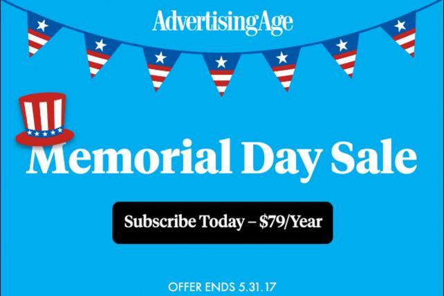 Please Use Caution When Handling Ad Age\'s HOT Memorial Day.