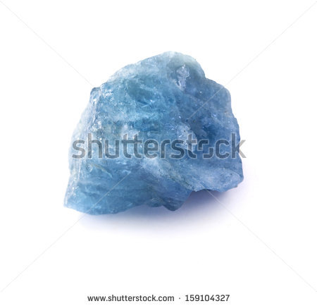 Aquamarine Gemstone Stock Photos, Royalty.