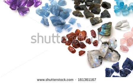 Uncut Diamond Stock Images, Royalty.