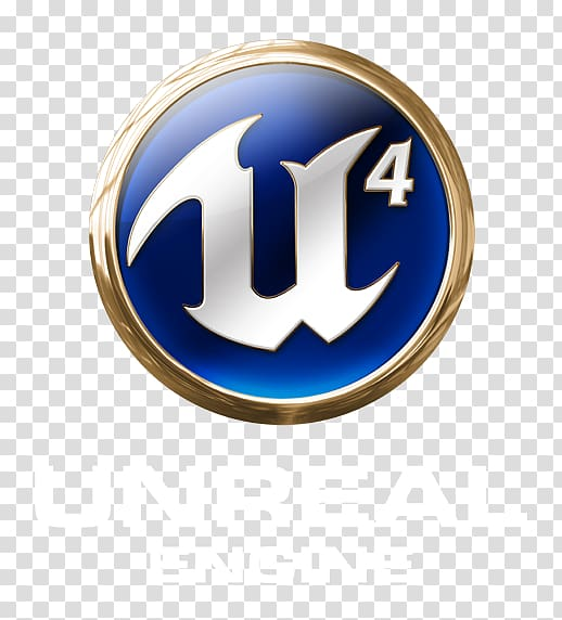 Unreal Engine 4 Logo Game engine Video Games, Font Off White.