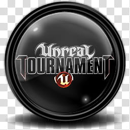 Game Black, Unreal Tournament logo transparent background.