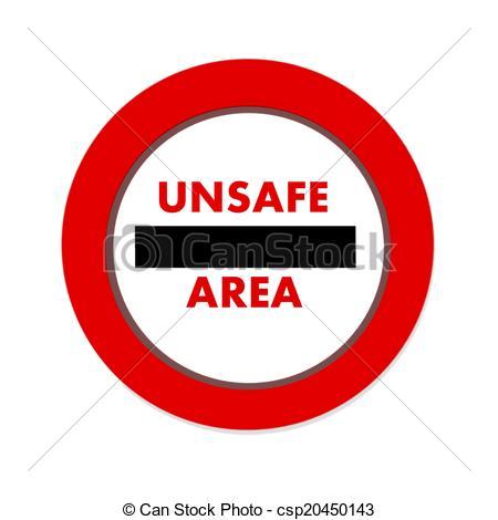 Unsafe Illustrations and Stock Art. 2,031 Unsafe illustration.