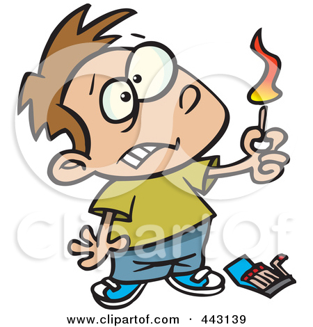 Unsafe Fire Clipart.