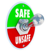 Unsafe Act Clipart.