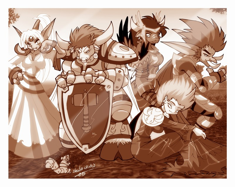 Ironsong grup Picture. by ChaloDillo on DeviantArt.