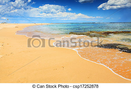 Picture of Beautiful Australian Beach in summer.