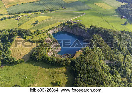 "Stock Photo of ""Aerial view, """"""""See im Berg"""""""", German for."
