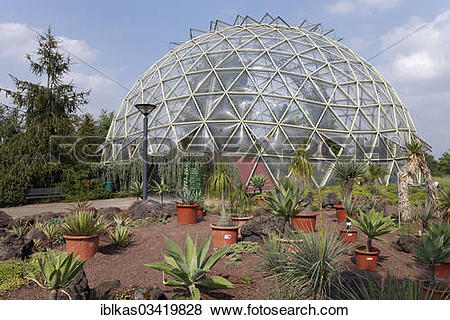 "Pictures of ""Dome greenhouse, Botanical Garden of the Heinrich."
