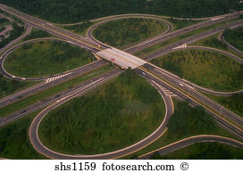 Freeway cloverleaf Images and Stock Photos. 33 freeway cloverleaf.