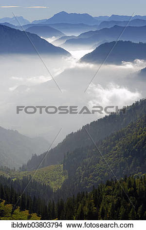 "Stock Photo of ""Hoher Goll, Hohes Brett above Ristfeuchthorn and."