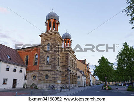 Stock Photo of Synagoge, Kitzingen, Mainfranken, Unterfranken.