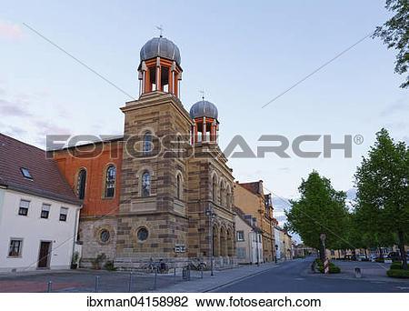 Stock Photo of Synagoge, Kitzingen, Mainfranken, Unterfranken.