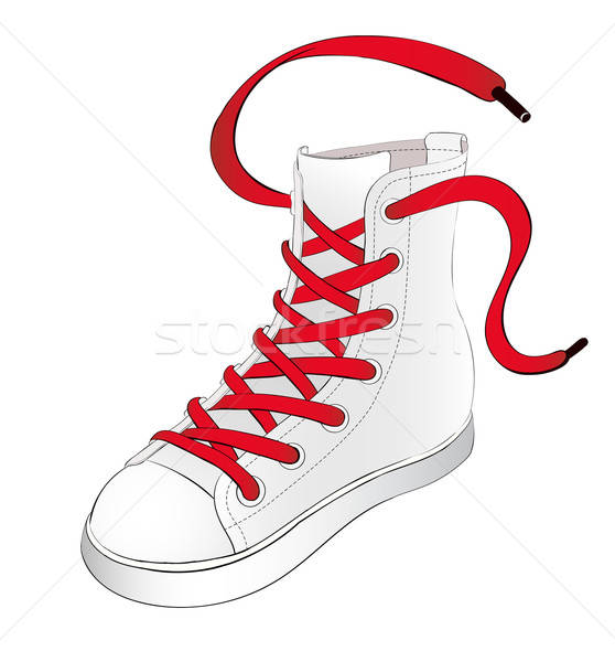 Shoelace Stock Vectors, Illustrations and Cliparts.