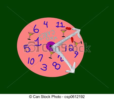 Stock Photo of untimely clock.