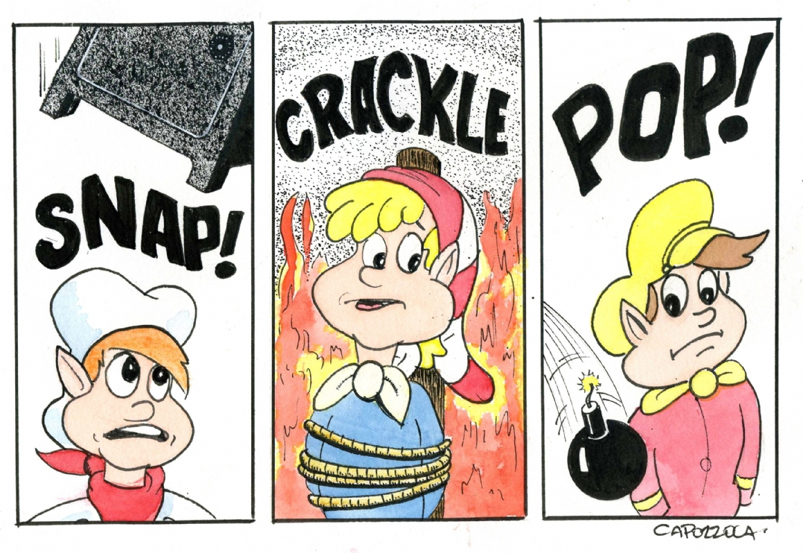 The Untimely Demise Of Snap, Crackle Pop , in Michael Capozzola's.