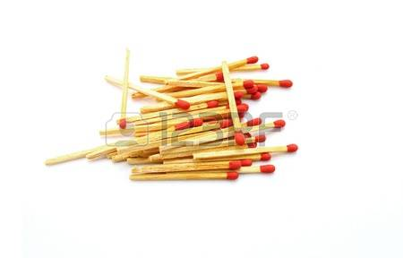 Unused matches clipart.