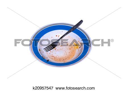 Picture of Unwashed plate k20957547.